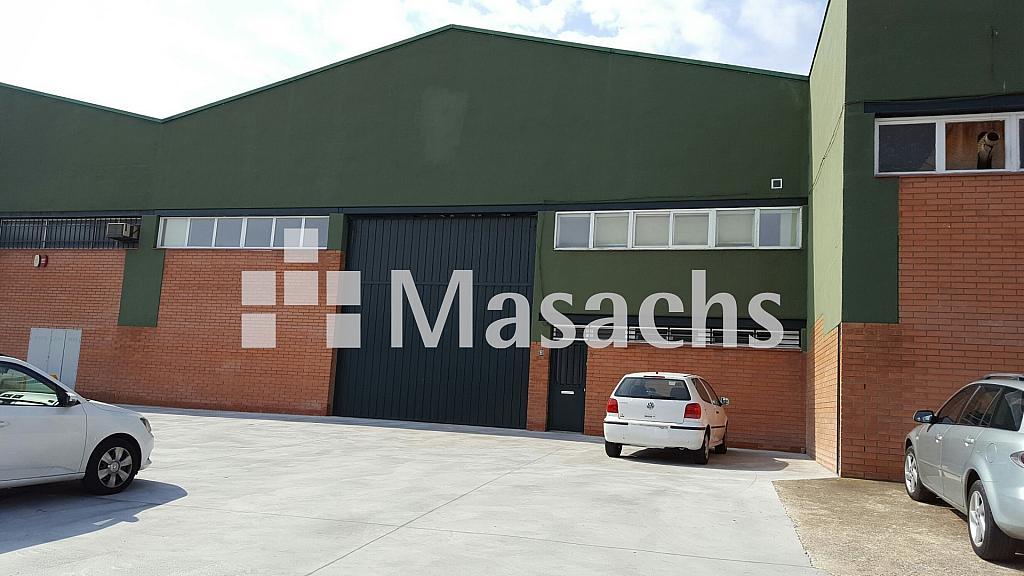 Ref. 7704 exterior - Nave industrial en alquiler en Granollers - 326097657