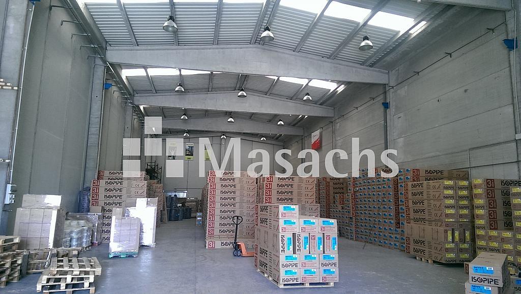 Ref. 7238 nave - Nave industrial en alquiler en Roca del Vallès, la - 203878327