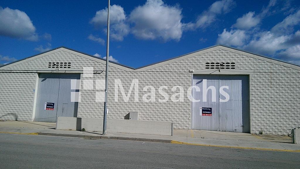 Ref. 7280 MARESME - Nave industrial en alquiler en Castellar del Vallès - 211083497