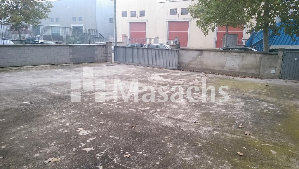 Ref. 7371 patio 2 - Nave industrial en alquiler en Santa Eulàlia de Ronçana - 228602382