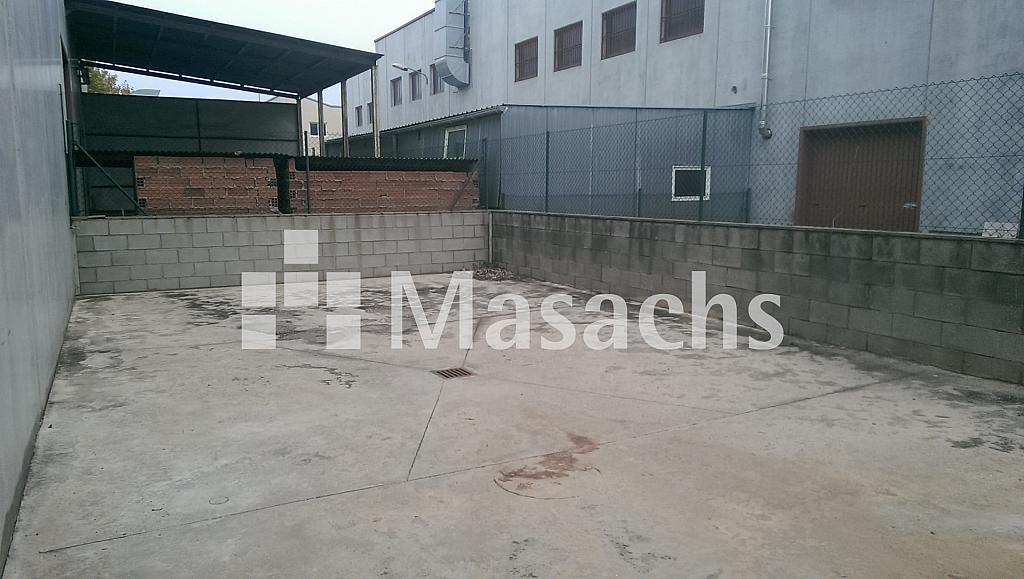 Ref. 7371 patio - Nave industrial en alquiler en Santa Eulàlia de Ronçana - 228602385