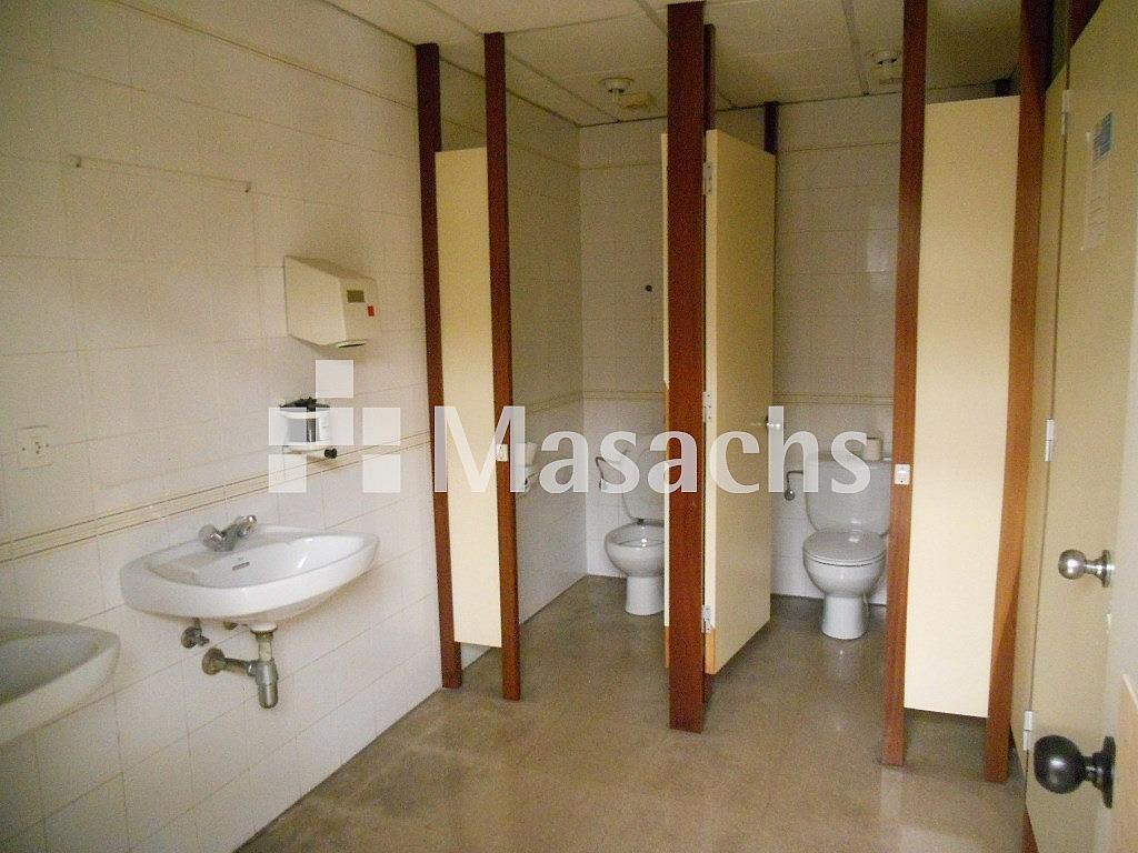 Ref. 7419 aseos - Nave industrial en alquiler en Cornellà de Llobregat - 233435737