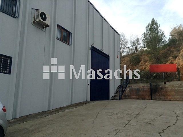 Ref. 7451 exterior - Nave industrial en alquiler en Rubí - 239161555