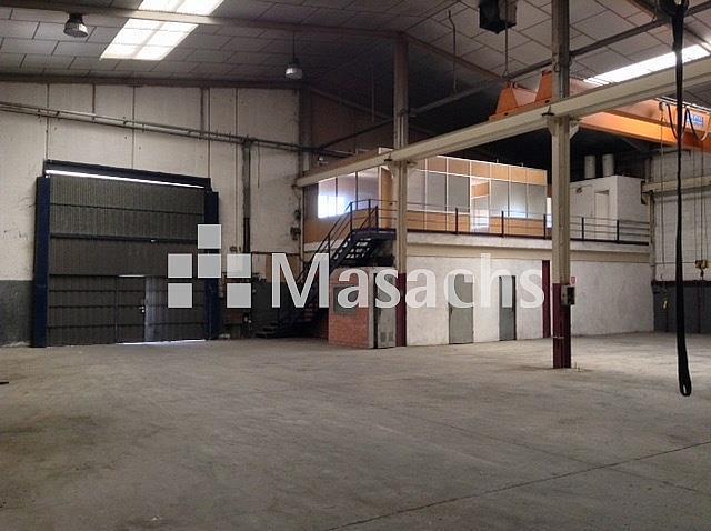 Ref. 7451 nave - Nave industrial en alquiler en Rubí - 239161570