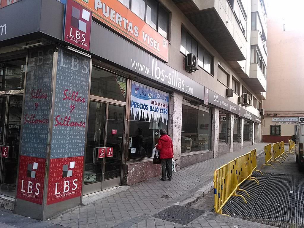 Fachada - Local comercial en alquiler en calle Alcala, Ventas en Madrid - 211919057