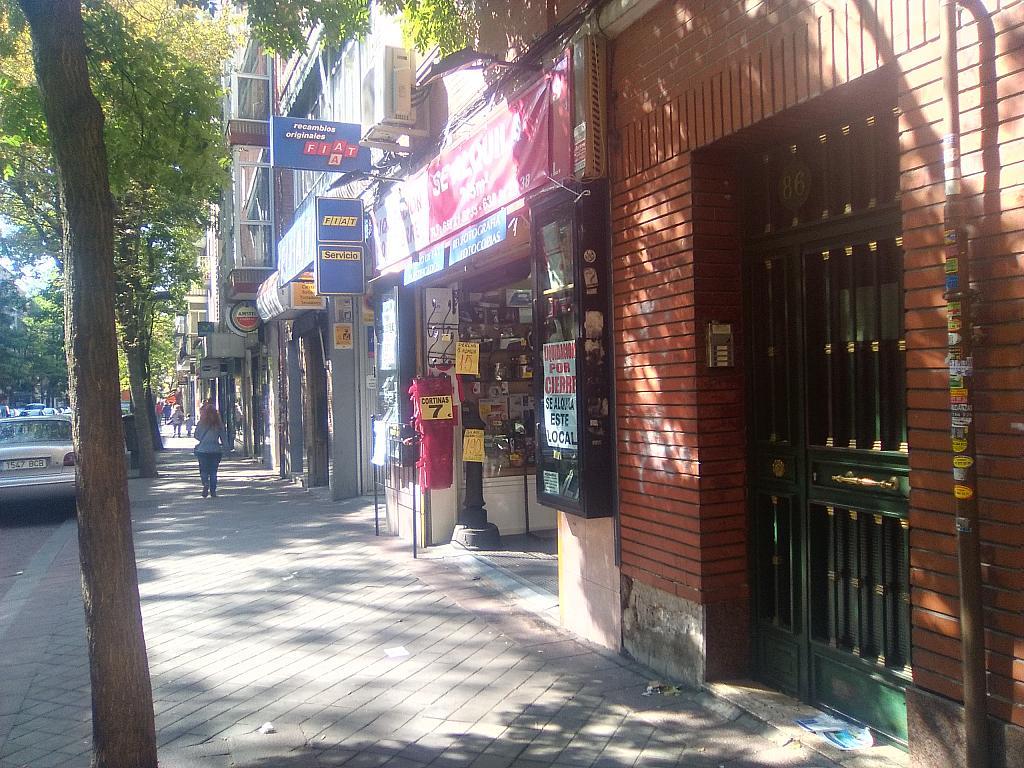 Fachada - Local comercial en alquiler en calle Carlos Martin Alvarez, Palomeras Bajas en Madrid - 216848541