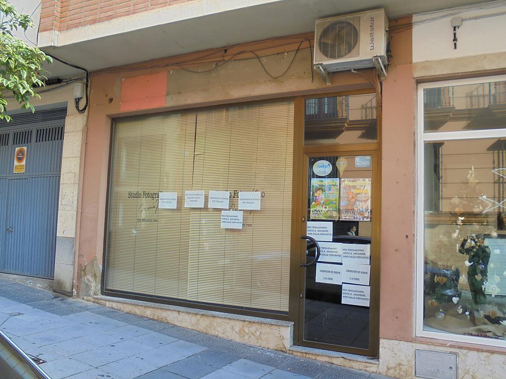 Fachada - Local comercial en alquiler en calle Cantones, Almendralejo - 221450504
