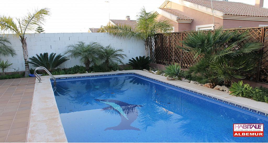 Casa en alquiler opción compra en calle Sierra, Esparragal, El - 250800801