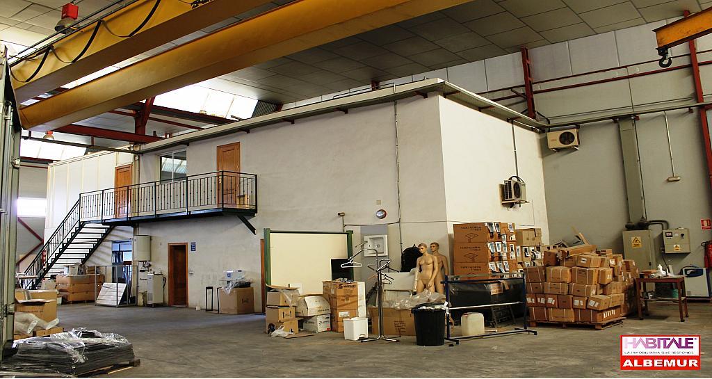 Nave industrial en alquiler opción compra en calle Alcalde Clemente Garcia, San gines - 272212704