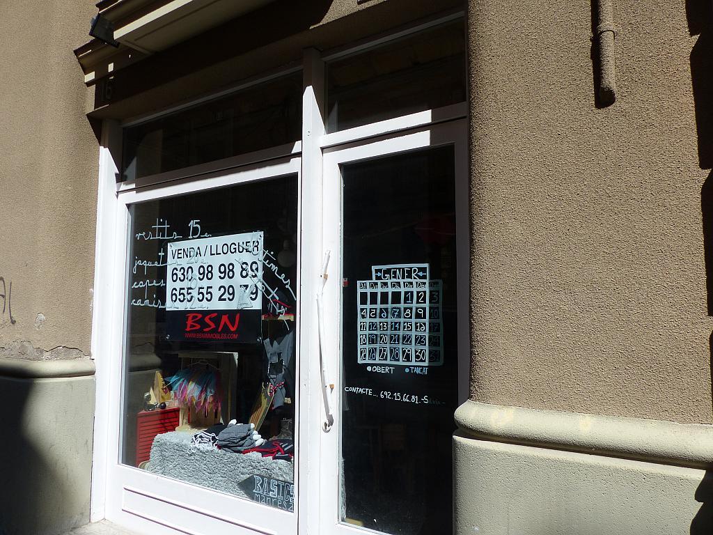 Local en alquiler en calle Sant Fruitos, Passeig rodalies en Manresa - 269043910