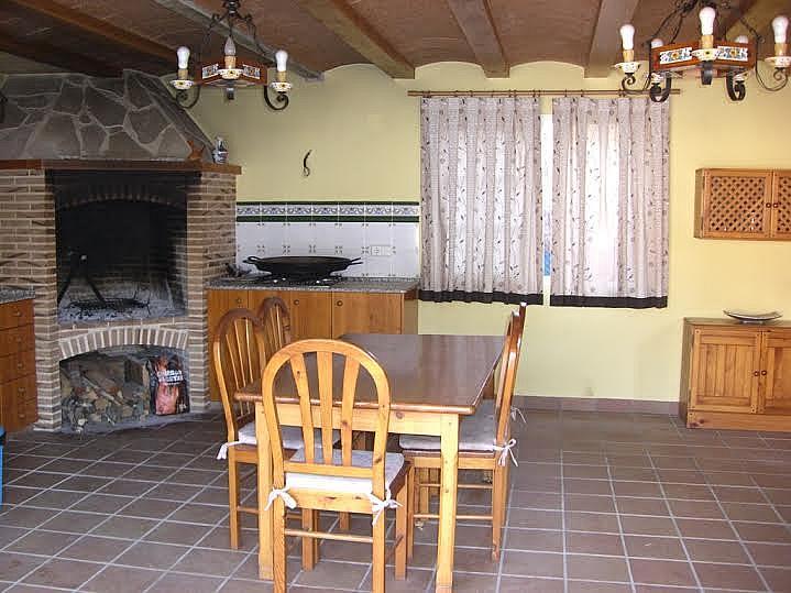 Comedor - Casa adosada en alquiler en calle Huelva, Riba-roja de Túria - 237192892