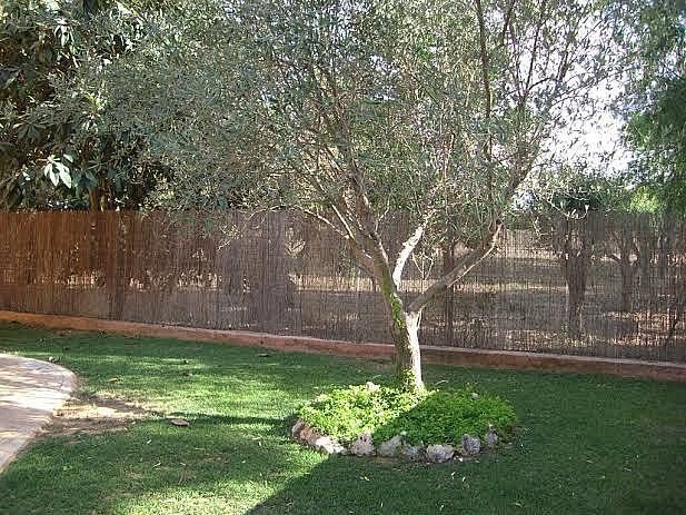 Jardín - Casa adosada en alquiler en calle Huelva, Riba-roja de Túria - 237192930