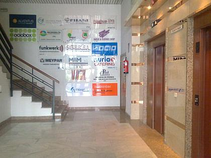 Vestíbulo - Oficina en alquiler en calle Somosierra, San Sebastián de los Reyes - 215960485