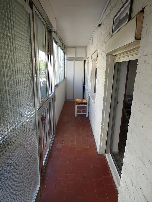 Terraza - Piso en alquiler en calle Constitucion, Centro en Móstoles - 322525254