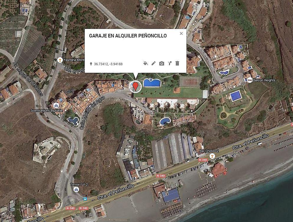 Garaje en alquiler en urbanización El Penoncillo, El Peñoncillo en Torrox - 291128790