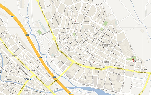 Nave industrial en alquiler en calle Tamarit, Ripollet - 135845795