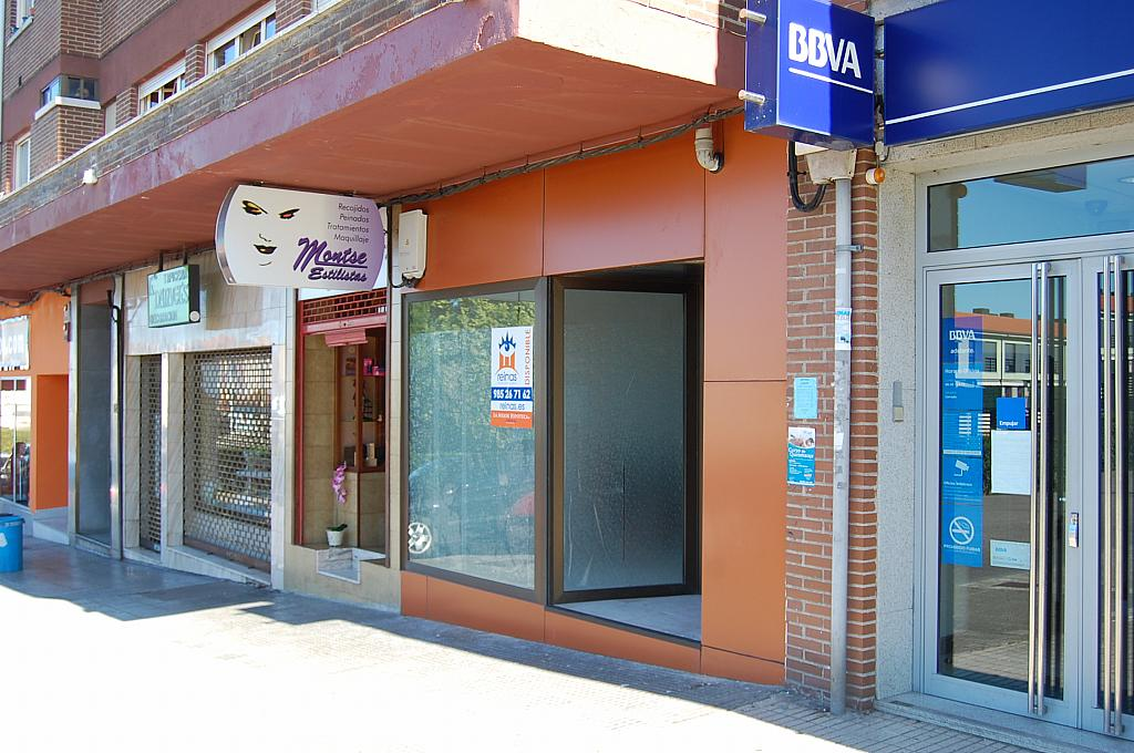 Fachada - Local en alquiler en calle Ctr Nacional, Tenderina en Oviedo - 216813006