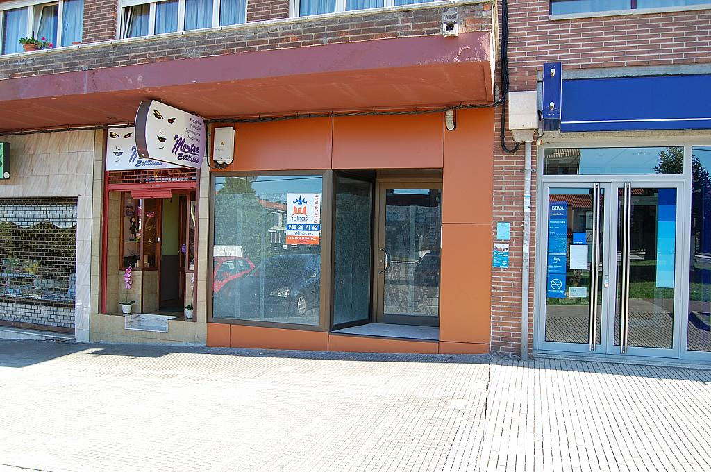 Fachada - Local en alquiler en calle Ctr Nacional, Tenderina en Oviedo - 216813012