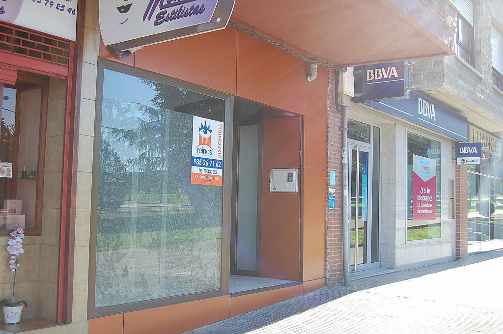 Fachada - Local en alquiler en calle Ctr Nacional, Tenderina en Oviedo - 216813018