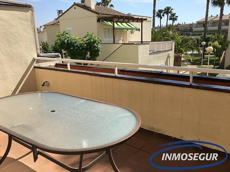 Terraza - Apartamento en venta en calle Muntanyals, Pineda, La - 286241062