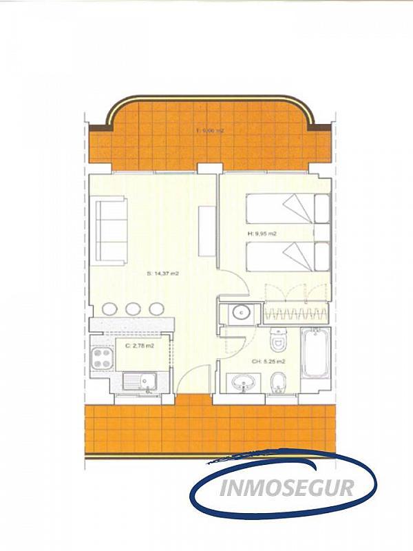 Plano - Apartamento en venta en calle Burguera, Plaça europa en Salou - 202527642