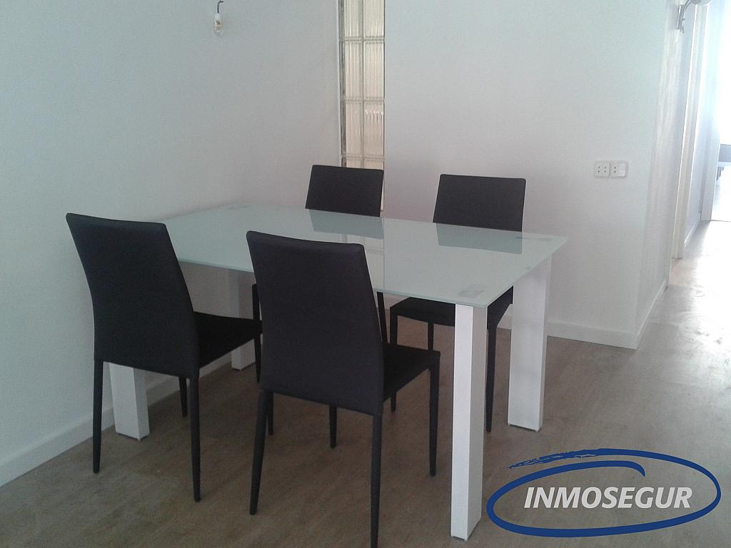 Comedor - Apartamento en alquiler en carretera Del Far, Cap salou en Salou - 329576861