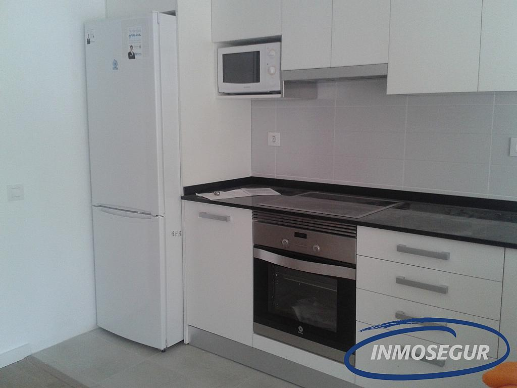 Cocina - Apartamento en alquiler en carretera Del Far, Cap salou en Salou - 329576899