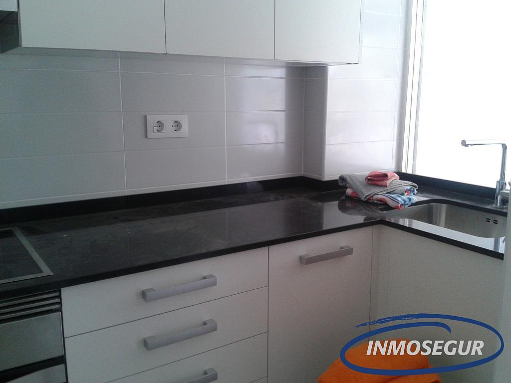 Cocina - Apartamento en alquiler en carretera Del Far, Cap salou en Salou - 329576906