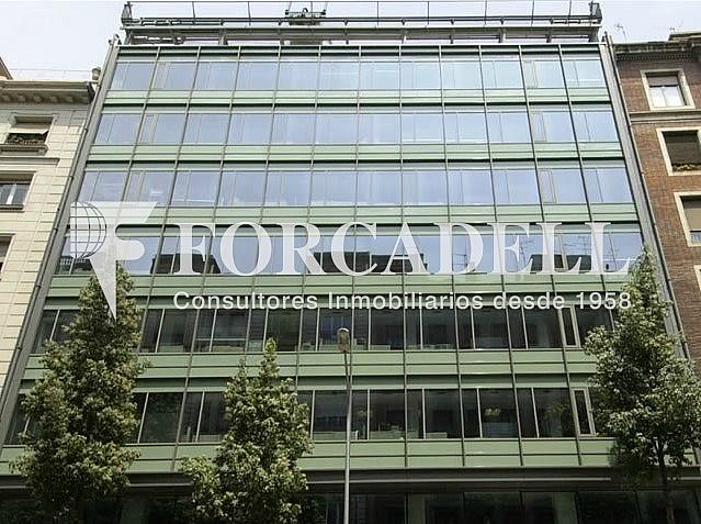 Façana - Oficina en alquiler en calle Balmes, Sant Gervasi – Galvany en Barcelona - 263456262