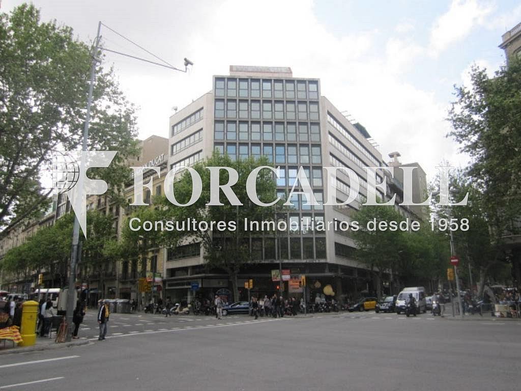 Fachada - Oficina en alquiler en calle Sant Pere, Eixample dreta en Barcelona - 263456613