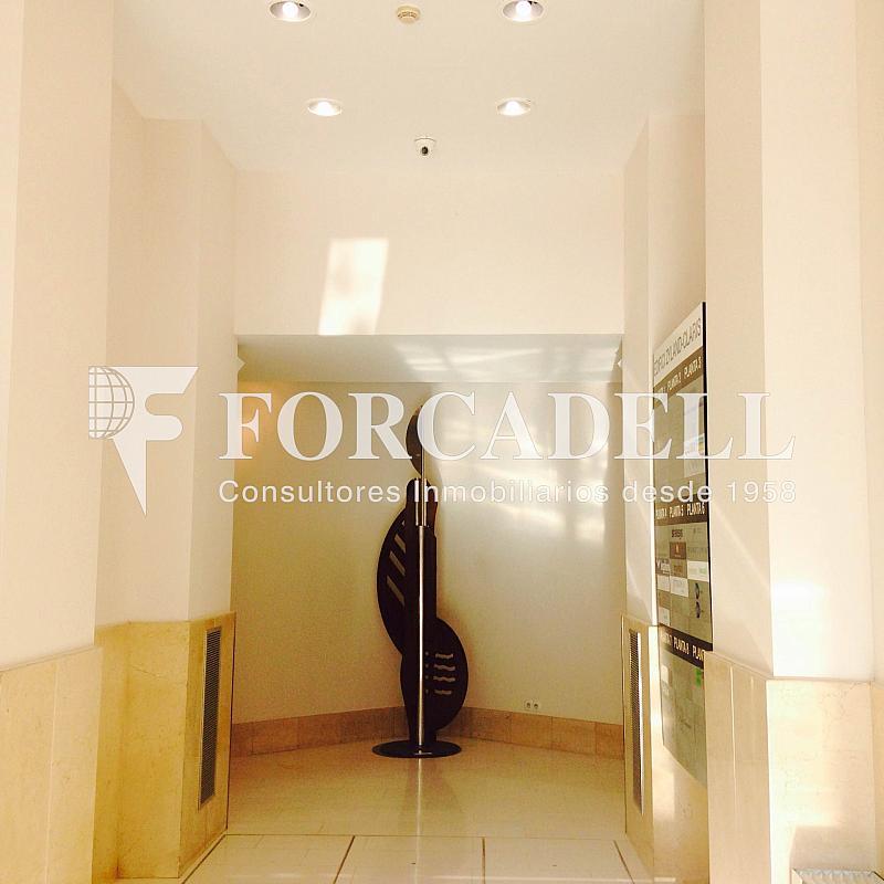 Vestíbulo - Oficina en alquiler en calle Sant Pere, Eixample dreta en Barcelona - 263456619