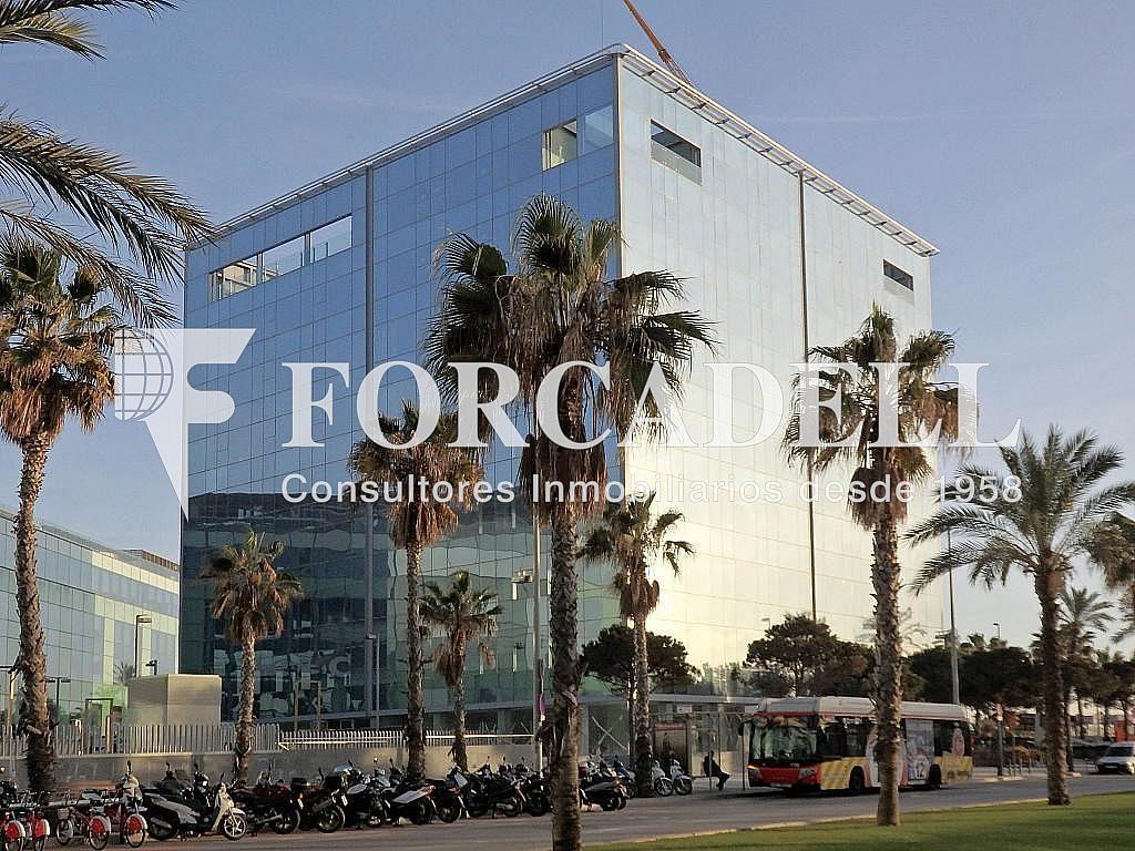 Façana - Oficina en alquiler en edificio De Joan de Borbó Ocean, La Barceloneta en Barcelona - 263424561