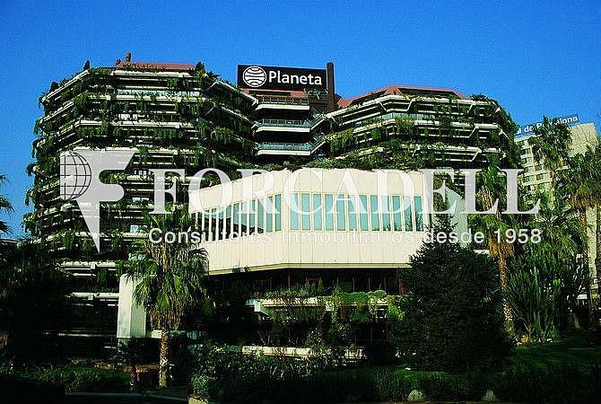 Façana - Oficina en alquiler en calle Diagonal, Pedralbes en Barcelona - 274814180