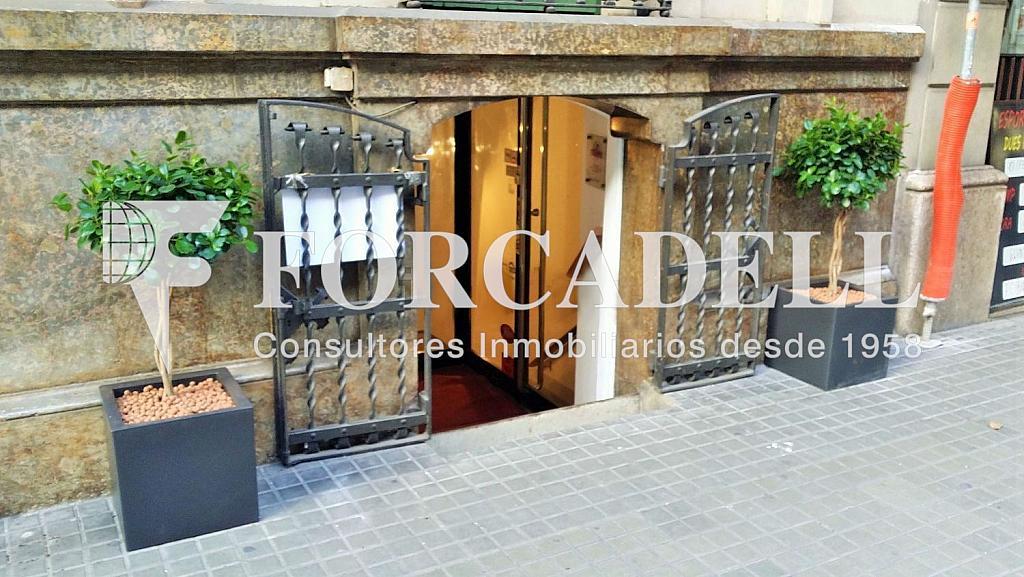 Façana - Oficina en alquiler en calle València, Eixample dreta en Barcelona - 278702975