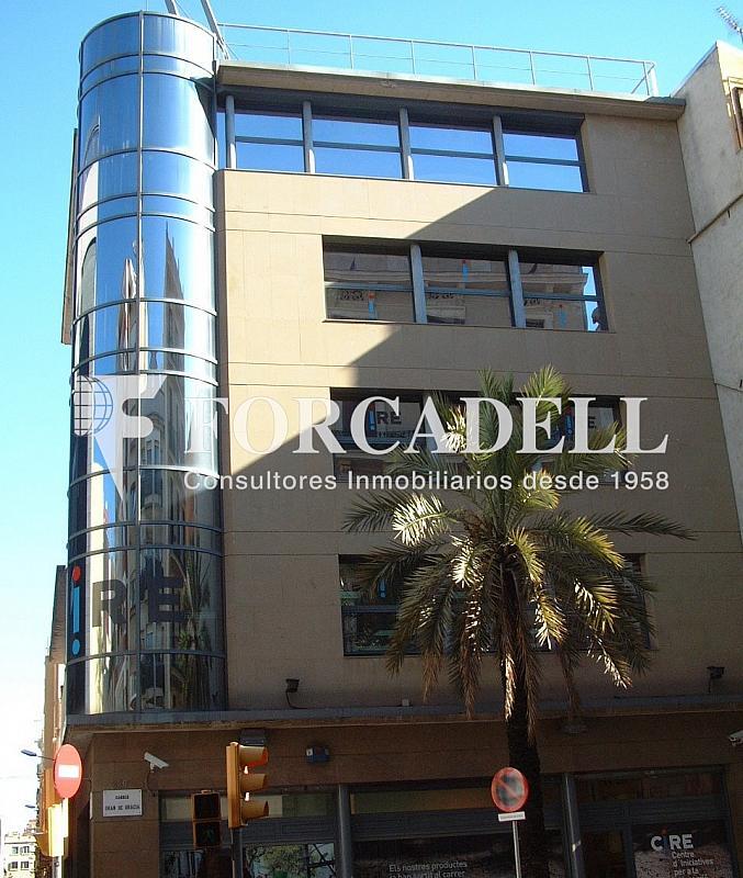Façana - Oficina en alquiler en calle Gran de Gracia, Vila de Gràcia en Barcelona - 282037048