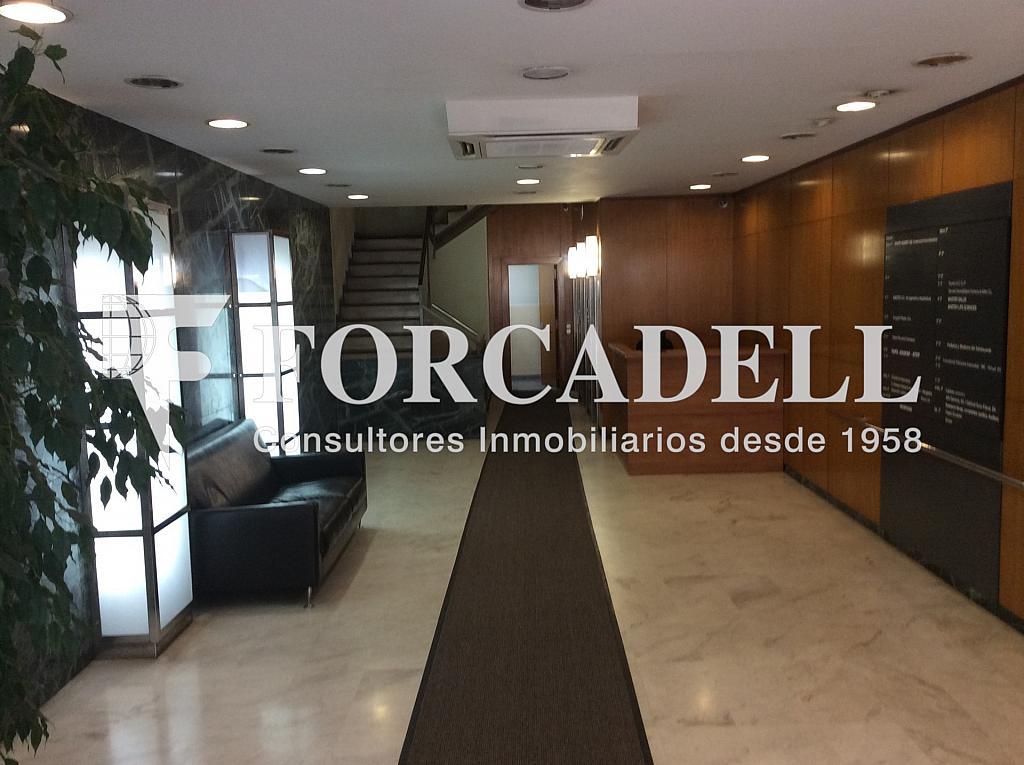 Vestíbulo edificio - Oficina en alquiler opción compra en calle General Mitre, Sant Gervasi – Galvany en Barcelona - 282037741