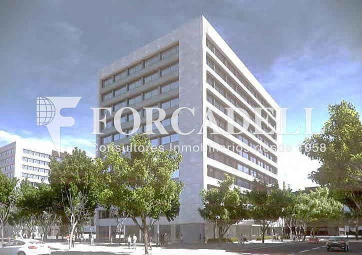 Fachada - Oficina en alquiler en calle Diagonal, Les corts en Barcelona - 286365435