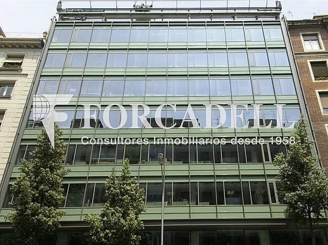 Façana - Oficina en alquiler en calle Balmes, Sant Gervasi – Galvany en Barcelona - 286365882