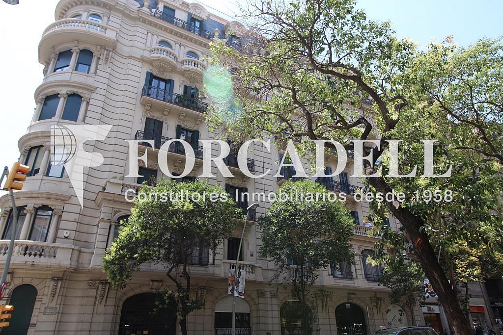 Fachada - Oficina en alquiler en calle Muntaner, Sant Gervasi – Galvany en Barcelona - 299867693