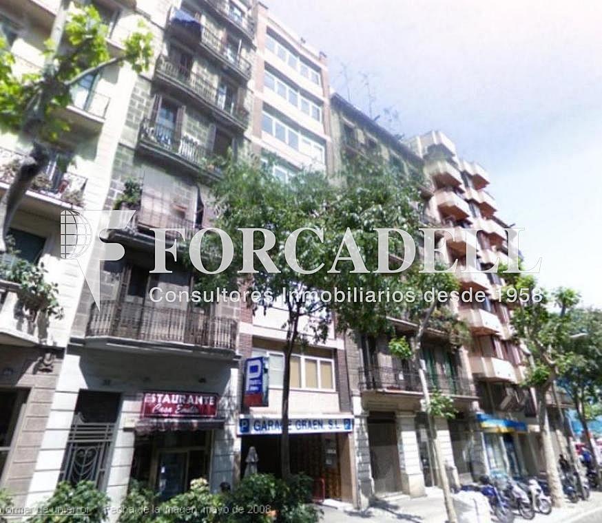 Fachada - Oficina en alquiler en calle Aribau, Eixample esquerra en Barcelona - 263426814