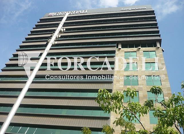 Perspectiva edificio - Oficina en alquiler en calle Gran Via de Les Corts Catalanes, Sants-Badal en Barcelona - 263427294