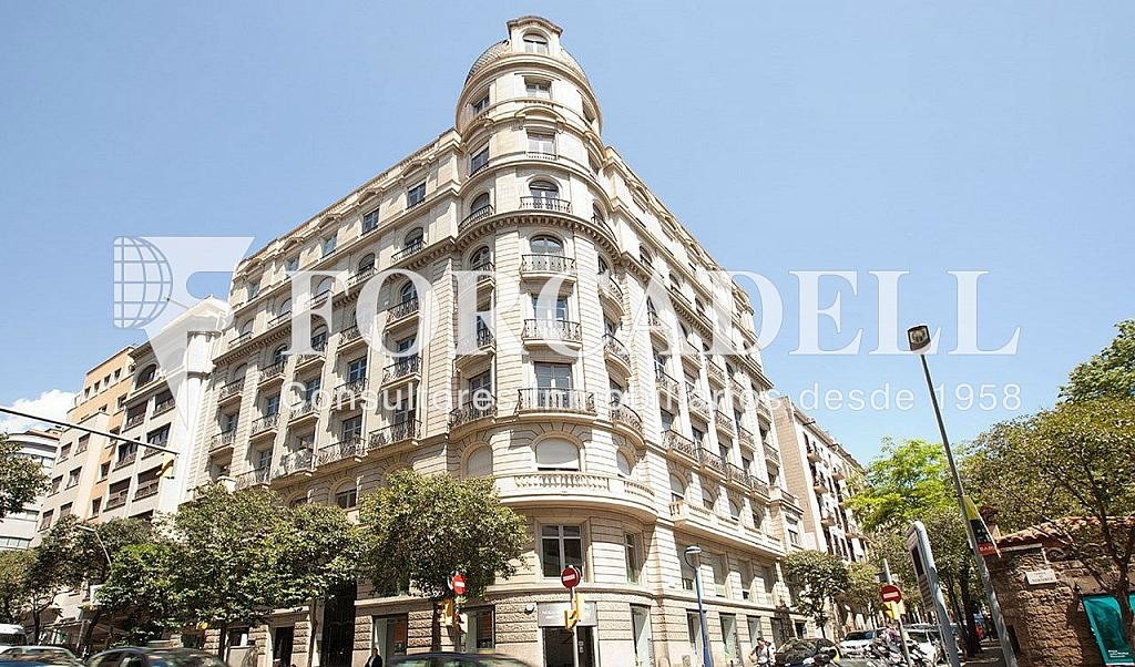Façana - Oficina en alquiler en calle Muntaner, Sarrià en Barcelona - 267668658