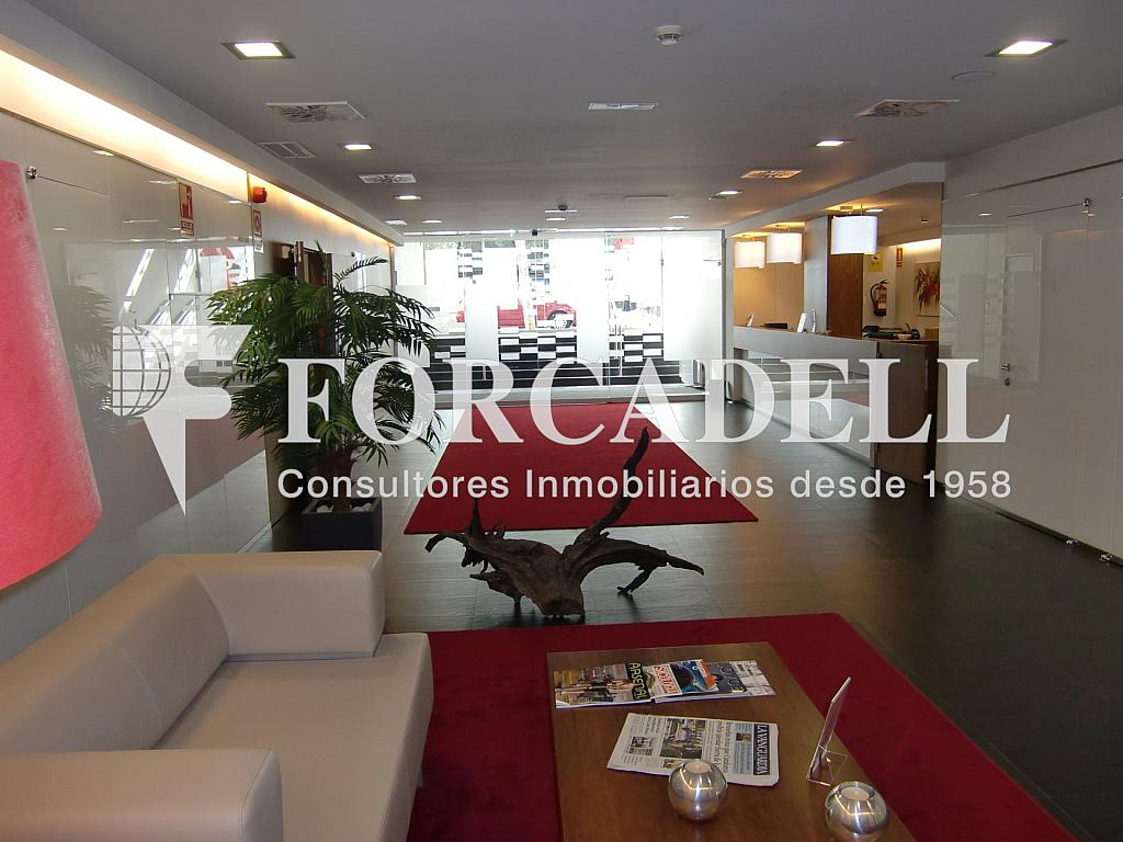 Vestíbul - Oficina en alquiler en calle Josep Tarradellas, Eixample esquerra en Barcelona - 263426313