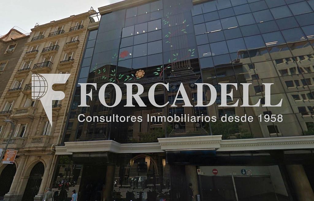 Façana - Oficina en alquiler en calle Aribau, Sarrià en Barcelona - 278703389