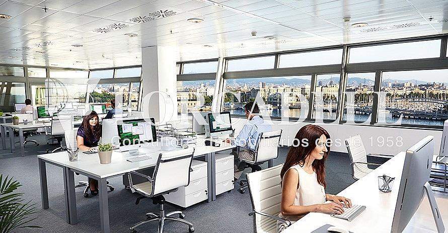 2-Galeria-oficinas-alquiler-barcelona-espacio-de-trabajo - Oficina en alquiler en calle De Barcelona World Trade Center, La Barceloneta en Barcelona - 380199012