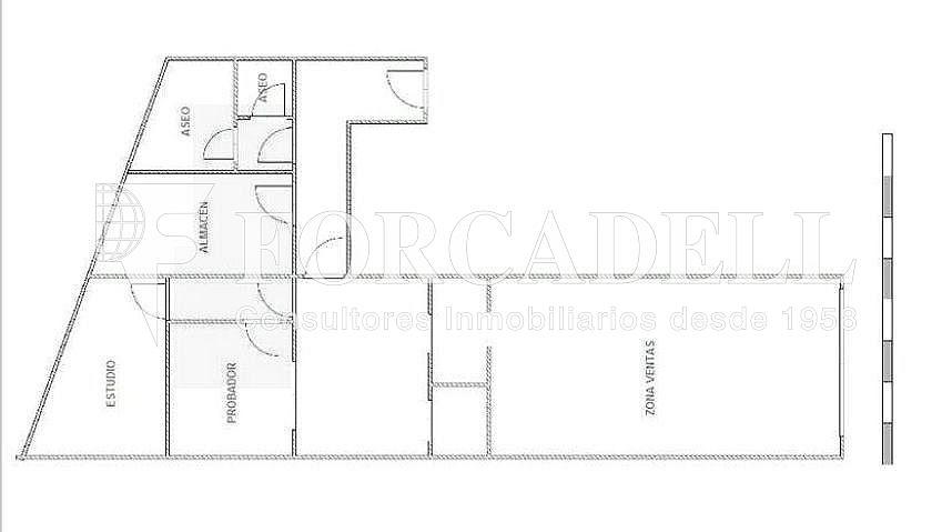 Plànol local sevilla - Local comercial en alquiler en Casco Antiguo en Sevilla - 281186441
