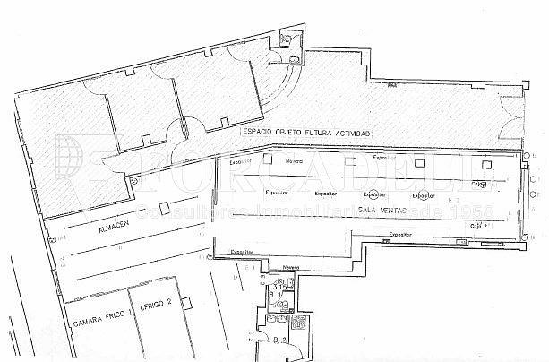 Plano Aragón-001 - Local comercial en alquiler en El Clot en Barcelona - 287000616