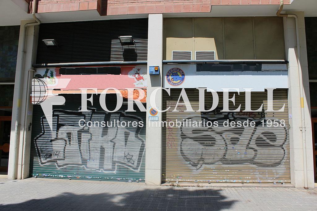 Aragó Fachada - Local comercial en alquiler en El Clot en Barcelona - 287000619