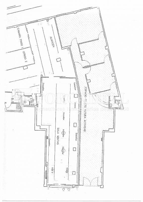 Plano Aragón-001 - Local comercial en alquiler en El Clot en Barcelona - 287000634