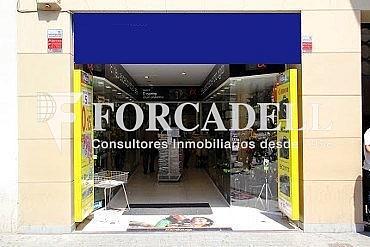 Fachada - Local comercial en alquiler en Eixample dreta en Barcelona - 289905136